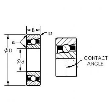 AST H71926AC angular contact ball bearings