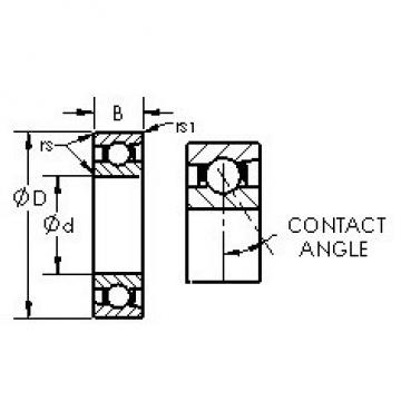 AST 71926AC angular contact ball bearings