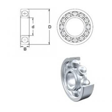 75 mm x 115 mm x 20 mm  ZEN S6015 deep groove ball bearings